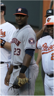 Chris Carter, Astros' First Baseman and DH