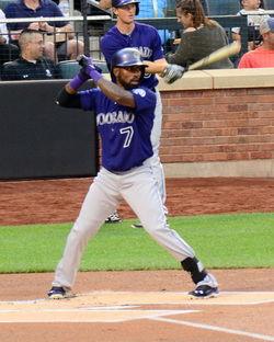 Rockies' Shortstop, Jose Reyes