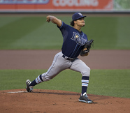 Rays Starting Pitcher, Chris Archer
