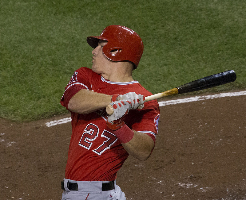 Top Fantasy Outfielder, Mike Trout