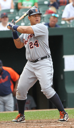 Cabrera is an RBI producing machine. in fact, he's a fantasy baseball
