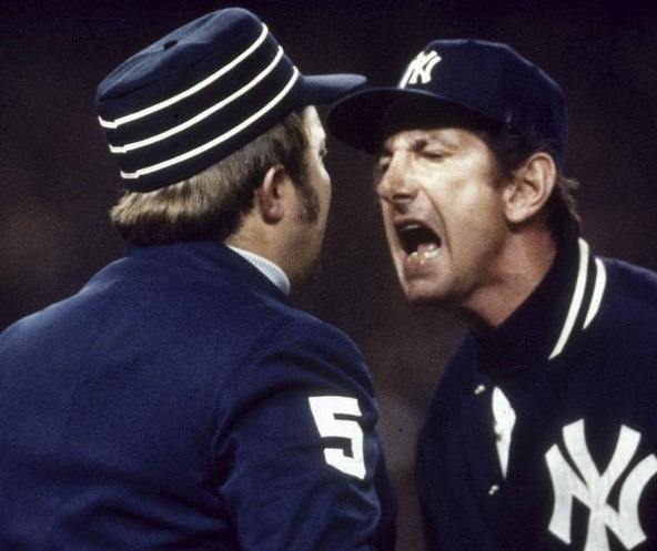 Billy Martin Arguing with Umpire