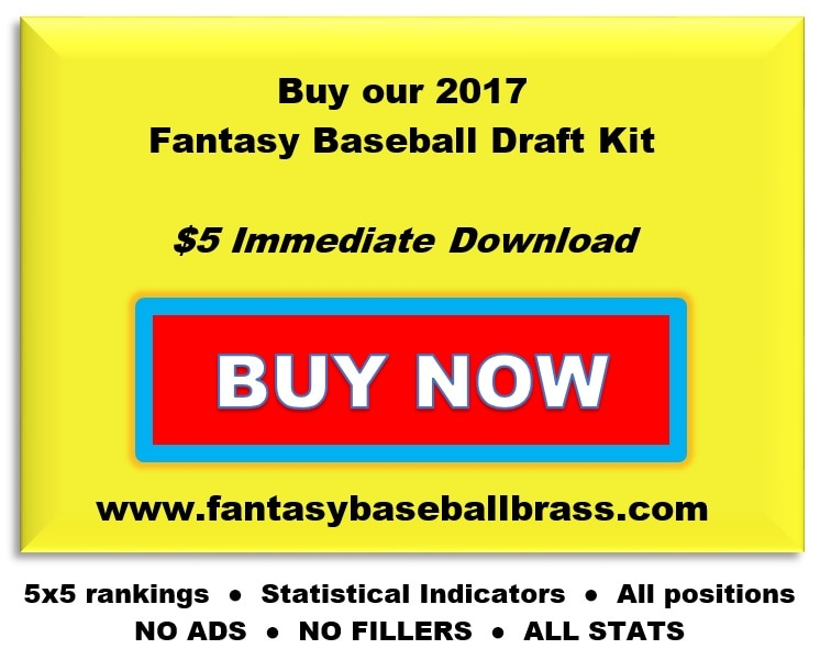 Fantasy Baseball Draft Kit Download