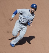 #10 fantasy 2nd baseman, Devon Travis