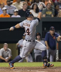 Detroit Tigers Catcher James McCann