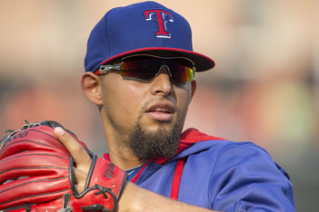 Texas Rangers Second Baseman, Rougned Odor